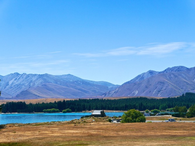 must see places in New Zealand, lake Tekapo