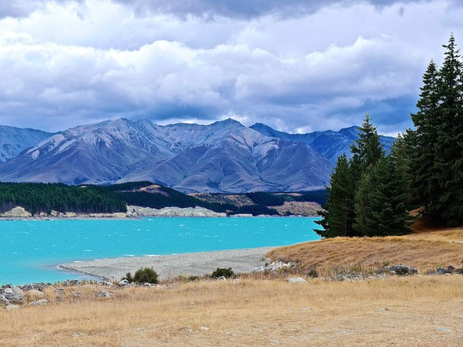 must see places in New Zealand, lake Pukaki