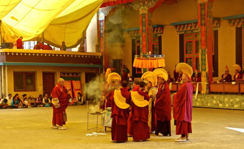 TWO UNFORGETTABLE WEEKS IN A TIBETAN MONASTERY IN NEPAL