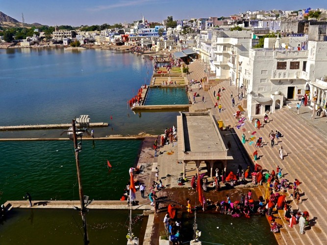 pushkar lake, must see places in rajasthan