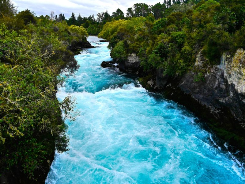 hukka falls, new zealand travel guide