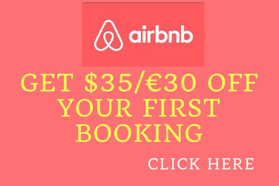 Get $35/€30 off your first booking on Airbnb